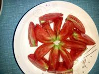 简单的凉拌西红柿