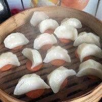 自己做的虾饺