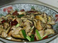 家常菜香菇炒肉