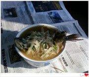 滋补的萝卜丝鲫鱼汤