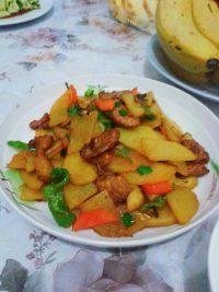 #营养美食#土豆炒肉片