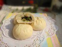 自己做的香菇菜包