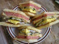 香飘的火腿三明治
