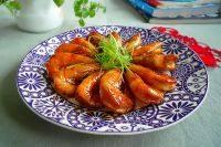 家常菜照烧虾