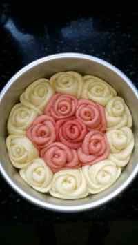 自制玫瑰花卷