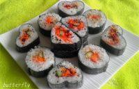 自己做的花样寿司