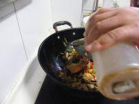 很有食欲的炒海蟹