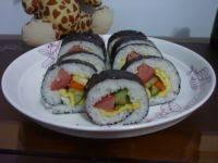 简易的自制寿司