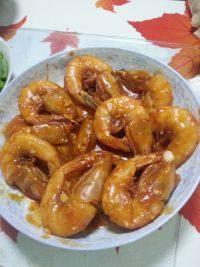 香滑番茄大虾