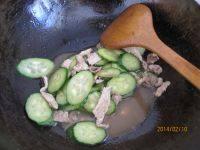 家常菜黄瓜肉片