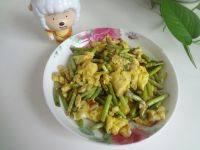 营养的蒜苔炒鸡蛋