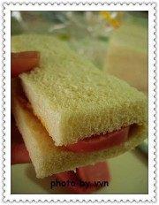 简单的火腿三文治