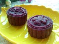 回味无穷的紫薯豆沙糕