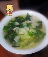 易做的青菜汤