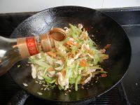 家常菜西芹炒鸡肉