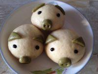 鲜香的小猪馒头