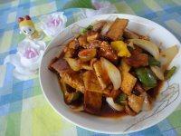 色味俱佳的茄汁豆腐