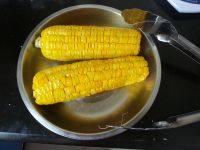 易做的奶香烤玉米