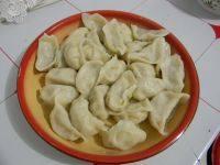 自制芹菜猪肉水饺
