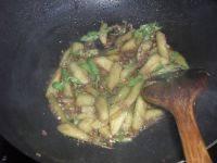 家常菜海米丝瓜