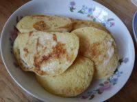 外婆教我做蛋煎馒头片