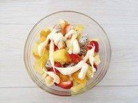 自己做的水果沙拉