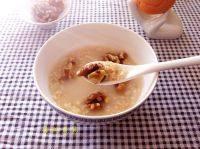 美味早餐核桃燕麦粥