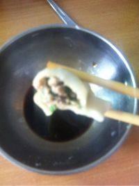 自己做的韭菜猪肉水饺