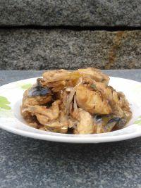 美味的红烧河豚鱼