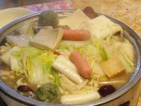 美味的清汤火锅