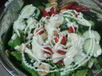 自制水果蔬菜沙拉
