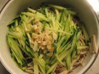 下酒菜凉拌豆腐丝