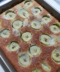 自制椰丝香蕉蛋糕
