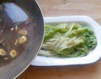 美味可口的蚝油生菜