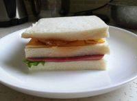 自己做的三明治