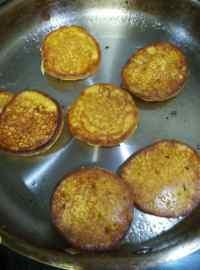 自制奶香玉米饼