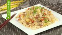 美味的培根土豆焖饭