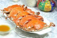 香味十足的清蒸梭子蟹