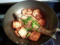家常菜老豆腐烧鳊鱼