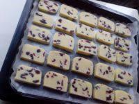 自己做的蔓越莓饼干