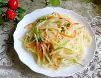 家常菜素炒土豆丝
