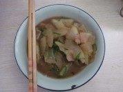 可口的冬瓜炒肉