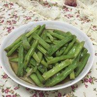 家常菜清炒四季豆
