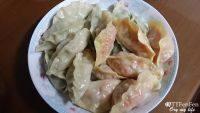 自己做的蒸饺
