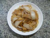 家常杏鲍菇炒洋葱