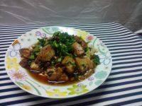 家常菜肉末炒豆腐