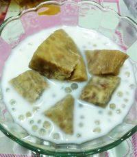 自制椰汁香芋西米露
