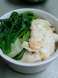 营养丰富青菜鸡蛋面