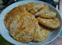 自己做的南瓜糯米饼