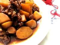 诱人的牛肉炖土豆